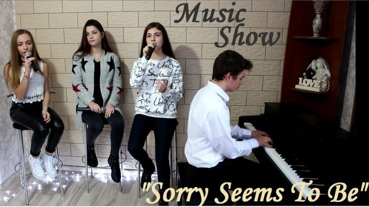 """MUSIC SHOW - """"Sorry Seems To Be The Hardest Word"""" (Blue&Elton John cover)"""