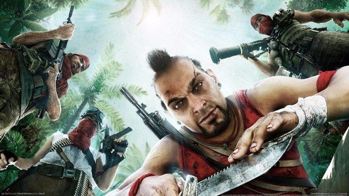 Ваас из Far Cry 3 Игра фильм. Полный фильм.