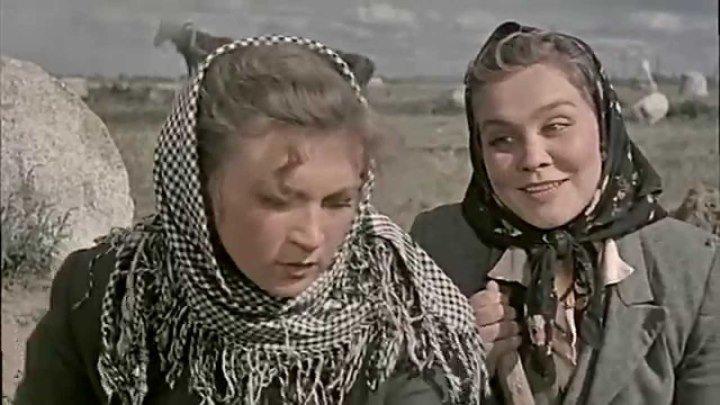 Посеяли девушки лён (1956) СССР драма, мелодрама