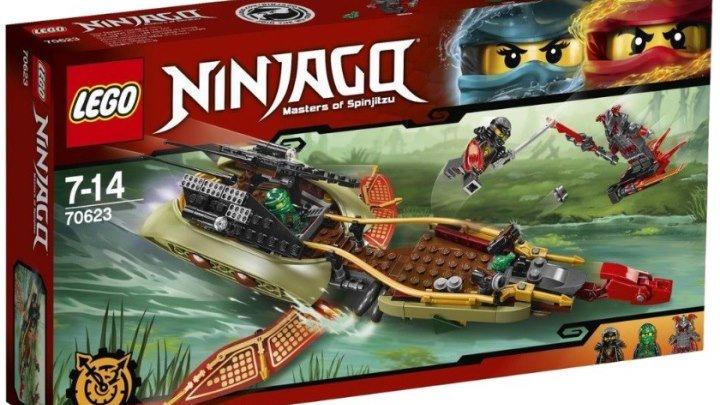 Обзор LEGO Ninjago 70623 Тень судьбы ⚡ Набор Лего 2017 по мультику Ниндзяго 7 сезон на русском языке