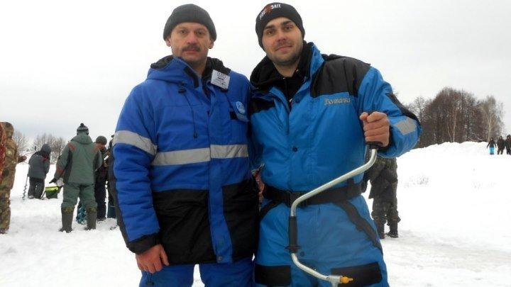На соревнованиях по ловле на мормышку со льда - РыбаLOVE Ледниковый период 2
