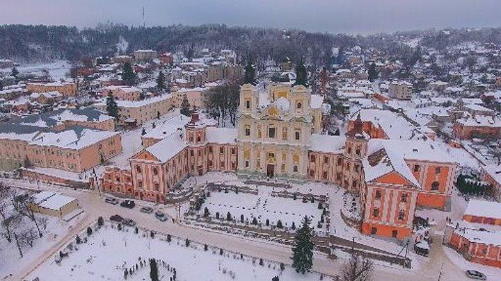 Города Украины - Кременец. Зима - 2017