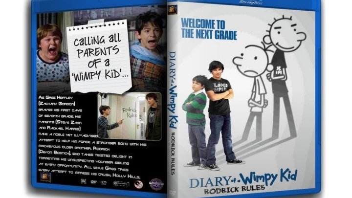 Дневник слабака 2 Правила Родрика (2011) Комедия