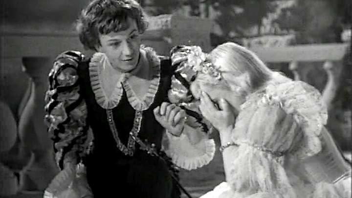 Золушка. Ленфильм 1947 год исходная чёрно-белая версия.