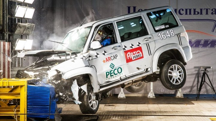 УАЗ Патриот- два… нет, три краш-теста! Голованов объясняет причины