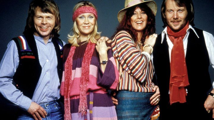 Abba - Dancing Queen (клип) 1976 Зал славы премии «Грэмми»
