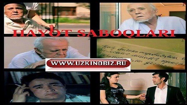 """Milliy o'zbek serial """"Hayot saboqlari"""" 3-qism www.uzkinobiz.ru"""
