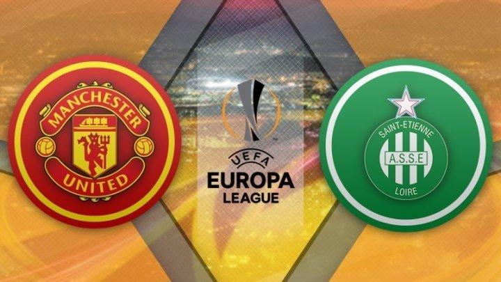 Манчестер Юнайтед 3:0 Сент-Этьен | Лига Европы УЕФА 2016/17 | 1/16 финала | 1-й матч | Обзор матча