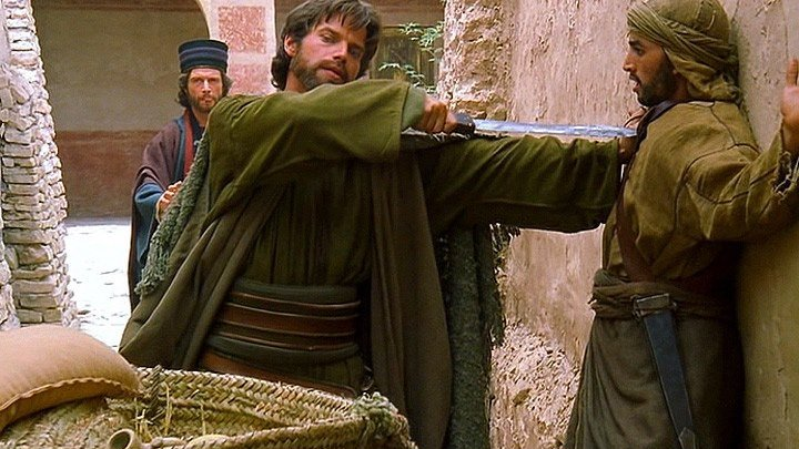 Библейские сказания(1993-2002) Апостол Павел. Чудо на пути в Дамаск. 2 часть