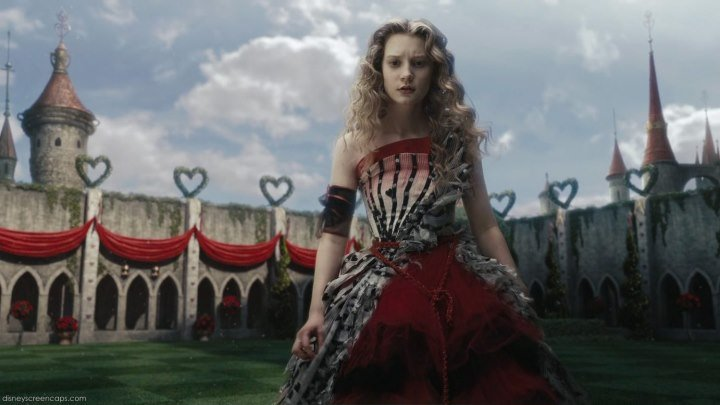Алиса в Стране Чудес .