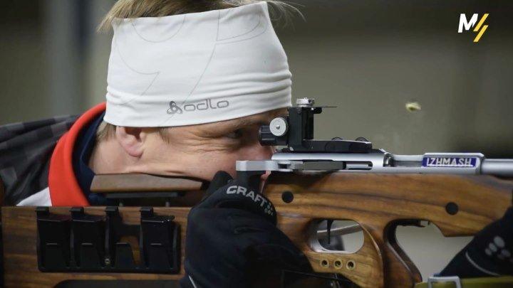 «Золотая» винтовка российских биатлонистов