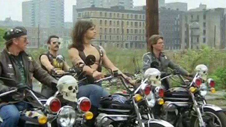 1990: Воины Бронкса (Италия 1982 HD) Фантастика, Боевик, Триллер 👍