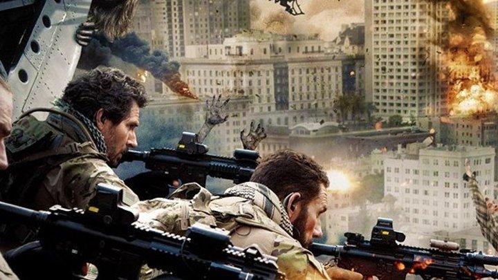 Морские котики против зомби (США 2015 HD) Ужасы, Боевик