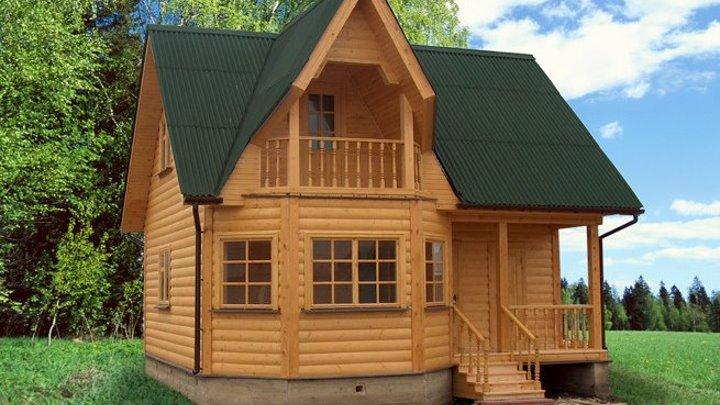 Дачный домик за 35 000 руб! Программа 'Время покупать'