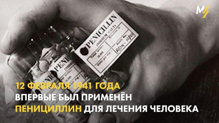 Пенициллин – первый антибиотик