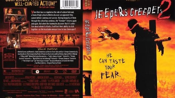 Джиперс Криперс 2 (2оо3) Ужасы, Триллер.