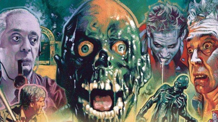 Возвращение живых мертвецов (1985) ужасы, комедия HDRip от Scarabey P [НТВ] Клу Гулагер, Джеймс Карен, Дон Кэлфа, Том Мэтьюз, Беверли Рэндольф