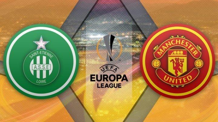 Сент-Этьен 0:1 Манчестер Юнайтед | Лига Европы УЕФА 2016/17 | 1/16 финала | 2-й матч | Обзор матча