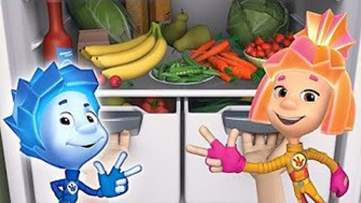 Фиксики - Витамины _ Познавательные мультики для детей