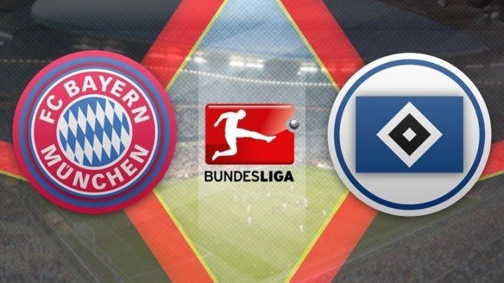Бавария 8:0 Гамбург | Немецкая Бундеслига 2016/17 | 22-й тур | Обзор матча
