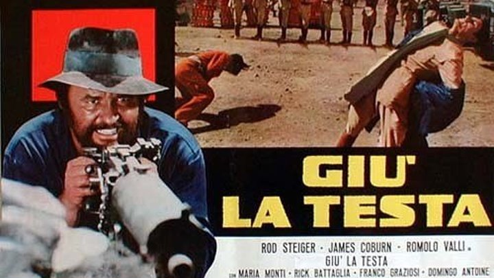 За пригоршню динамита (Испания, Италия 1971 HD) Боевик, Приключения, Вестерн 🔫