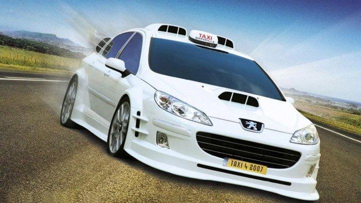 Такси 4 (2007).HD(боевик комедия)