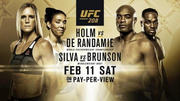 UFC 208: Main Card (11.02.2017) Holm vs. de Randamie