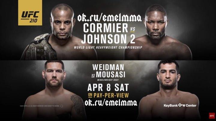 ★ UFC 210׃ Cormier vs Johnson 2 - (ПРОМО) ★