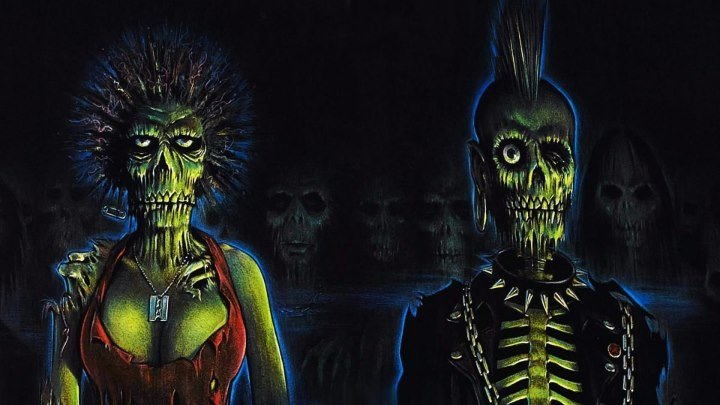 Возвращение живых мертвецов / The Return of the Living Dead (1984, Ужасы, комедия)