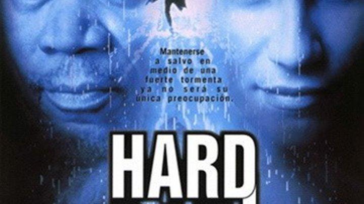 Ливень (1997) Hard Rain Жанр: Боевик, Триллер, Драма, Криминал. Страна: США, Дания, Франция. В ролях: Морган Фриман, Кристиан Слейтер, Рэнди Куэйд, Минни Драйвер,