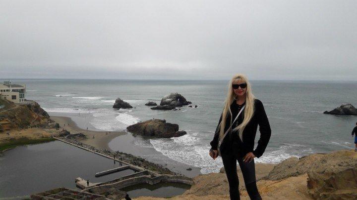 SAN FRANCISCO.CALIFORNIA.USA.05.06.2016 (Twin Peaks, park Lands End).