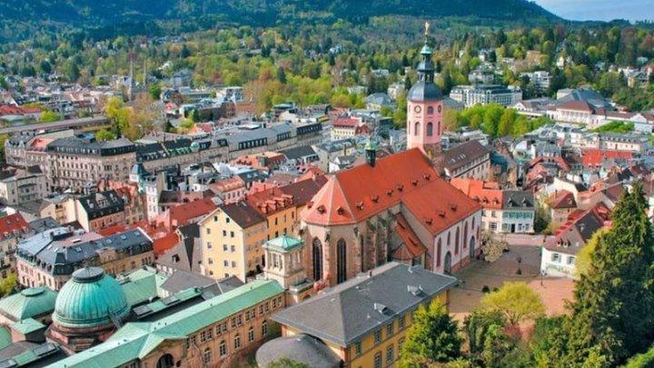 Баден-Баден. Курорт с горячими источниками | Всё о Германии