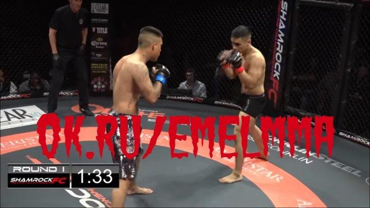 ★ ДВОЙНОЙ НОКАУТ! Axel Cazares vs Alan Vasquez ★