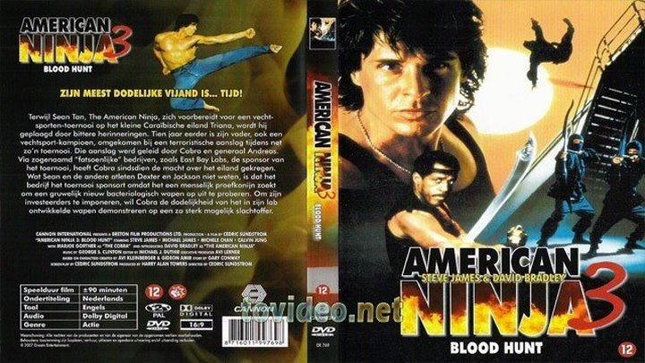 03 American Ninja 3. Blood Hunt - Американский ниндзя 3. Кровавая охота