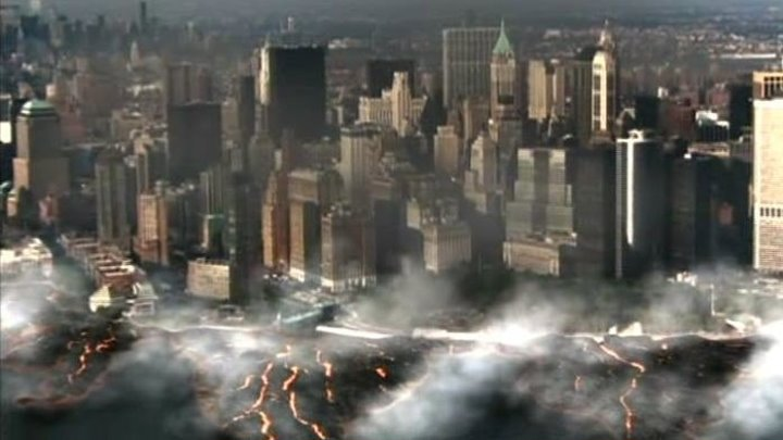 Опасная зона / Disaster Zone: Volcano in New York (2006, Фантастика, боевик, катастрофа)
