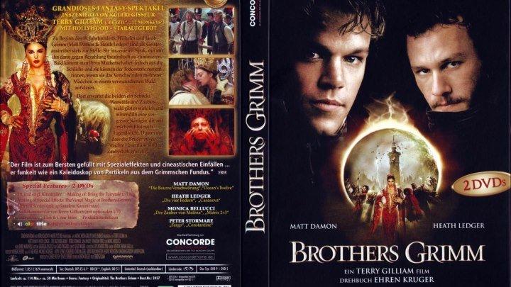 Братья Гримм (2оо5) Фантастика, Триллер.