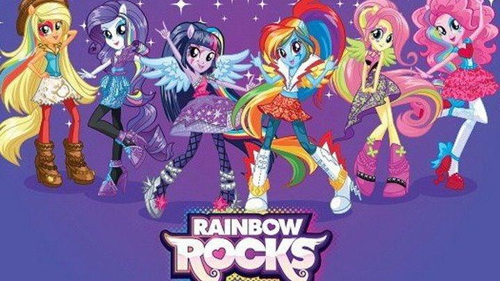 Мой маленький пони: Девочки из Эквестрии – Радужный рок (2014 HD) М/Ф ♘ Фэнтези, Комедии, Приключения
