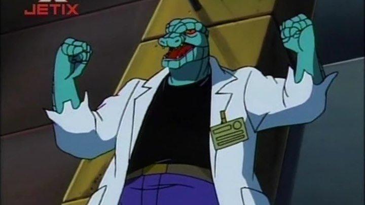 Человек-паук 1994 года ( Сезон 4, Серия 10 ) Король ящеров