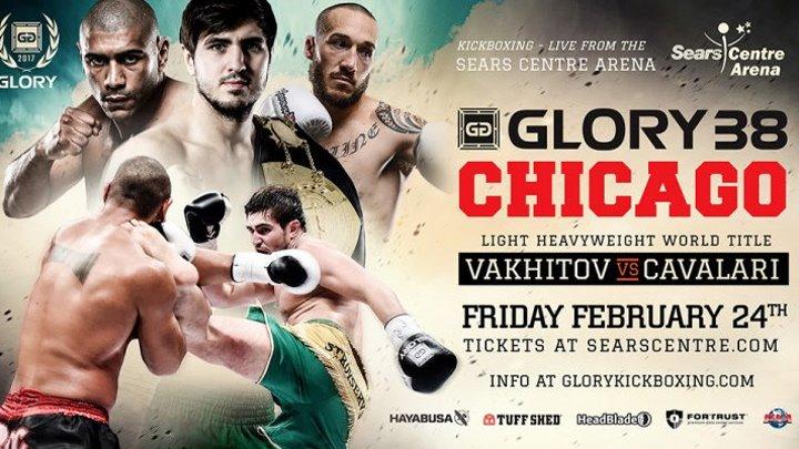 Glory 38: Chicago (24.02.2017) Artem Vakhitov vs Saulo Cavalari