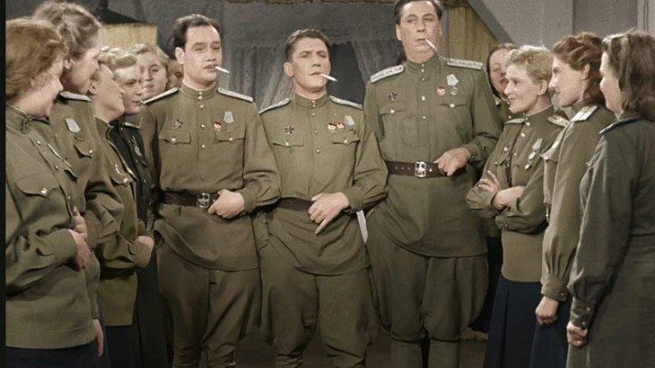 Небесный тихоход (1945) Цв. версия СССР комедия, военный