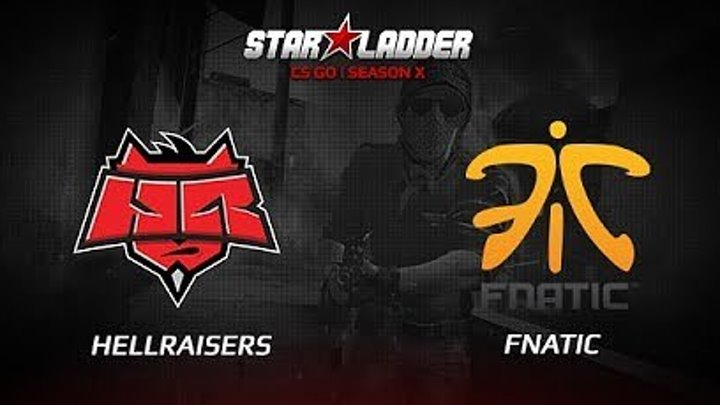 Fnatic vs HellRaisers, map 3 inferno, SL i-League StarSeries Season 3 Europe Qualifier