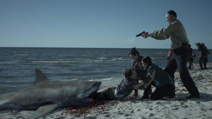 Акулы-зомби (2015) ужасы, фантастика