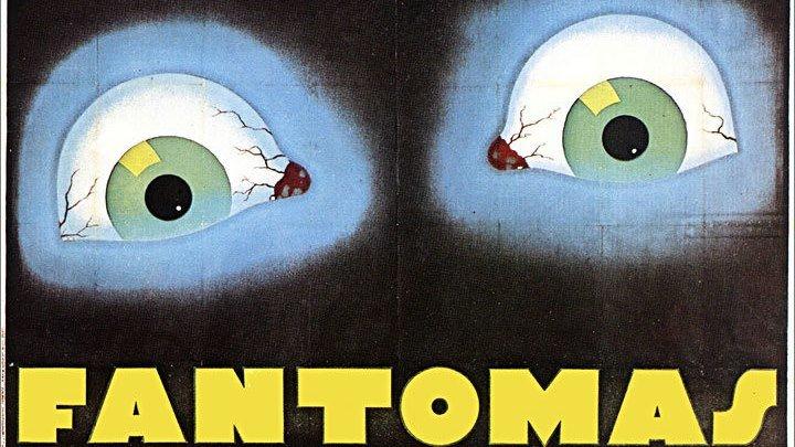 Фантомас / Fantômas (Франция 1932) Триллер, Детектив 👍