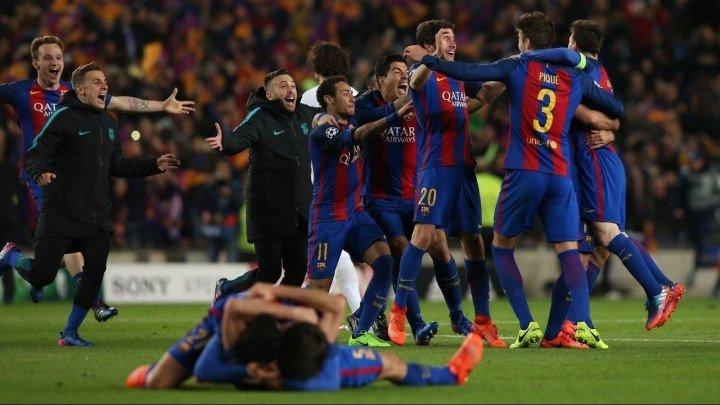 Барселона 6:1 ПСЖ | Лига Чемпионов 2016/17 | 1/8 финала |