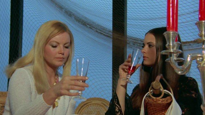 Вампирши-лесбиянки (ФРГ, Испания 1971 HD) 18+ Ужасы, Эротика, Вампиры, Экранизация