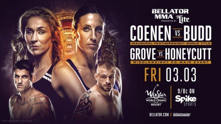 Bellator 174: Coenen vs. Budd (03.03.2017)