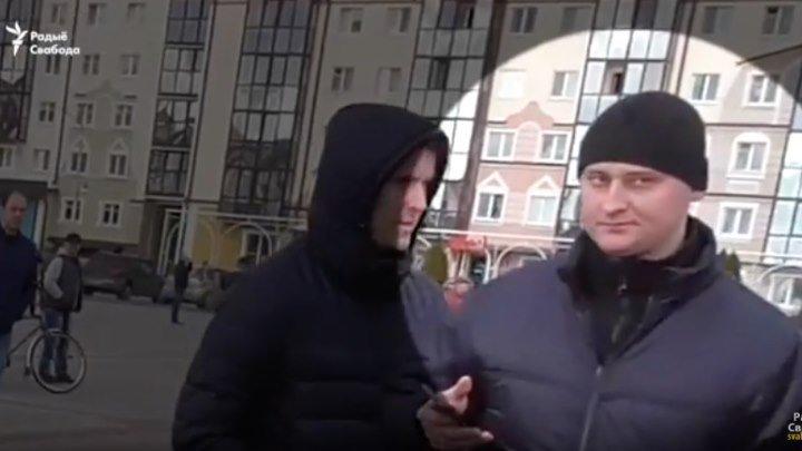 Эксклюзивные кадры задержания Максима Филиповича в Пинске