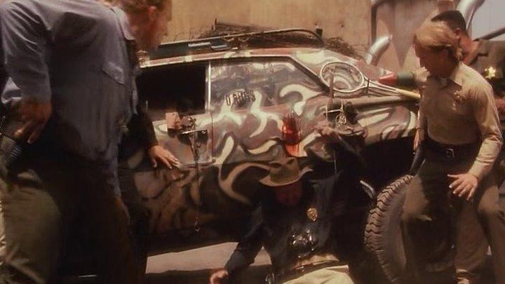 Стальная граница / Steel Frontier (1995 HD) Постапокалипсис, Боевик, Фантастика