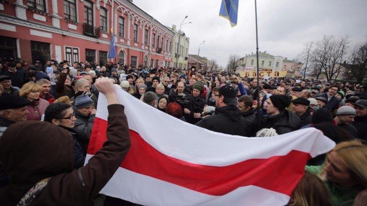 «Марш недармаедаў» у Рагачове. УЖЫВУЮ