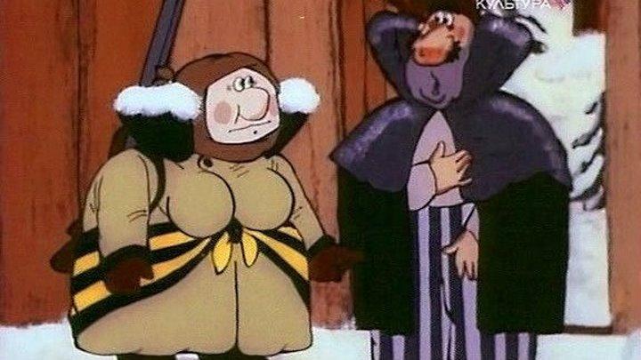 Ишь ты, Масленица! Мультфильм, 1985